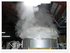 洗米及び蒸米1